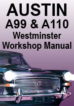 Austin A99 & A110 Westminster Workshop Manual