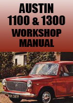 Austin 1100 & 1300 Workshop Repair Manual