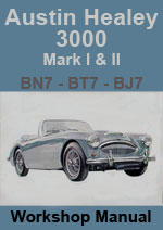 Austin Healey 3000 Workshop Repair Manual