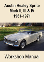 Austin Healey Sprite Workshop Repair Manual