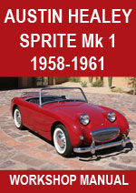 Austin Healey Sprite MKI - 1958-1961 Workshop Repair Manual